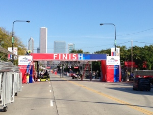 Chicago Finish Line